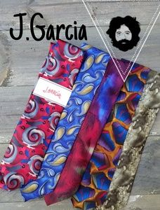 NWT Jerry Garcia silk tie collection